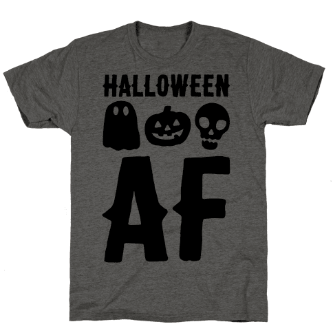 Halloween AF Mens T-Shirt