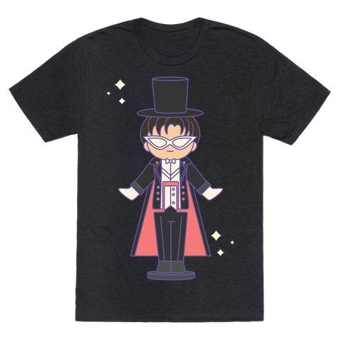 Tuxedo Mask Pocket Parody T-Shirt