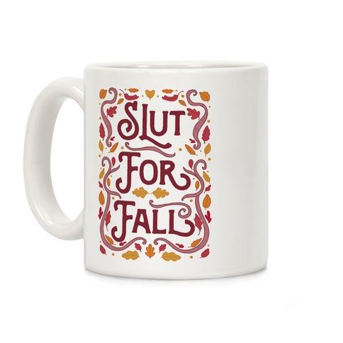 Slut For Fall Coffee Mug