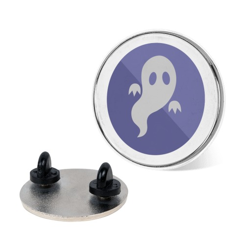 Ghost Type Gym Leader Badge Pin