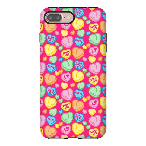 Candy Heart Butts Phone Case