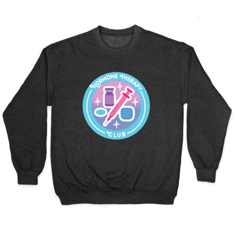 Hormone Therapy Club Patch Pullover