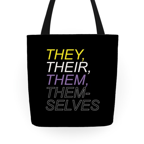 They Their Them Themselves Tote