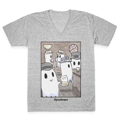 Spookeasy V-Neck Tee Shirt