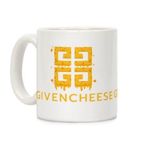 Givencheese Parody Coffee Mug
