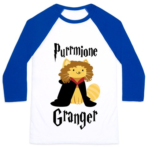 Purrmione Granger Baseball Tee