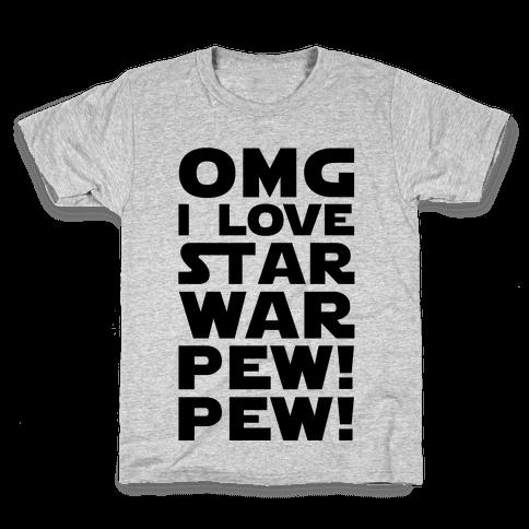OMG Star War Kids T-Shirt