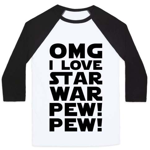 OMG Star War Baseball Tee