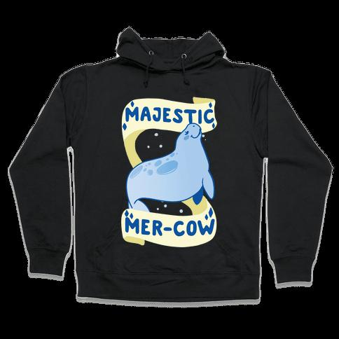 Majestic Mer-Cow Hooded Sweatshirt