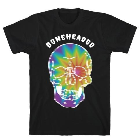 Boneheaded Trippy Skull T-Shirt