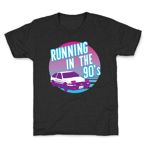 Running in the 90's  Kids T-Shirt