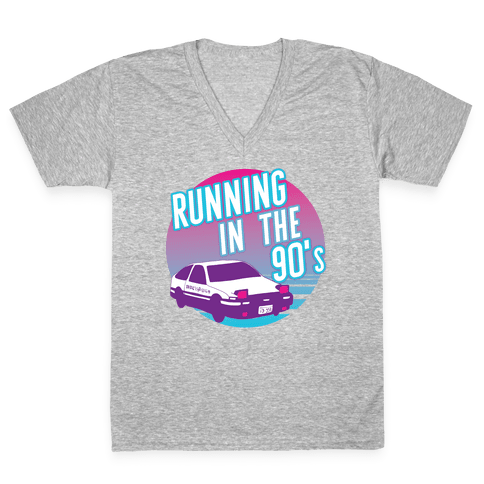 Running in the 90's  V-Neck Tee Shirt