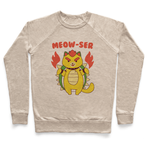 Meow-ser Bowser Pullover