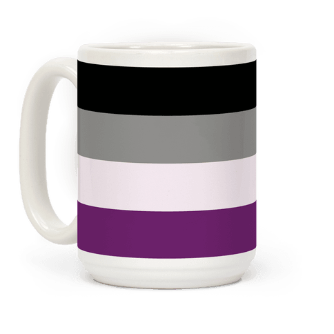 Asexual Pride Flag Coffee Mug