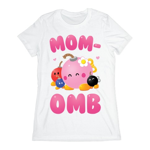 Mom-omb Womens T-Shirt