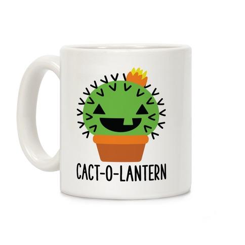Cact-o-lantern Coffee Mug