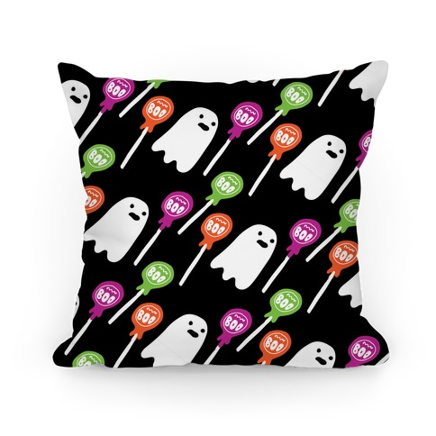 Boo Pops Pattern Pillow