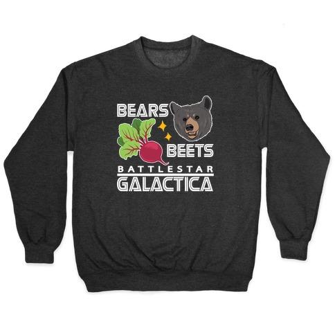 Bears. Beets. Battlestar Galactica. Pullover