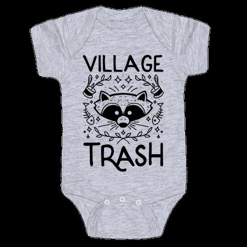 Village Trash Baby One-Piece