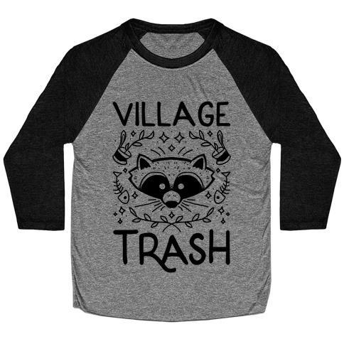 Village Trash Baseball Tee