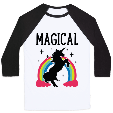 Magical Besties 1 (cmyk) Baseball Tee