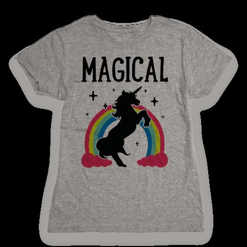 Magical Besties 1 (cmyk) Womens T-Shirt