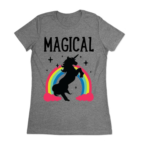 Magical Besties 1 (cmyk) Womens T-Shirt