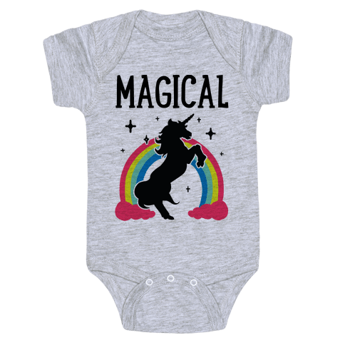 Magical Besties 1 (cmyk) Baby Onesy