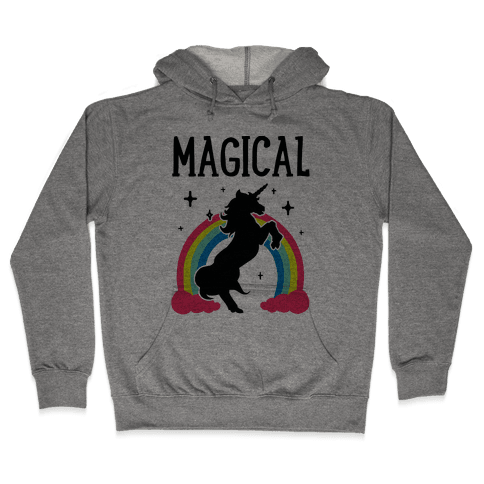 Magical Besties 1 (cmyk) Hooded Sweatshirt