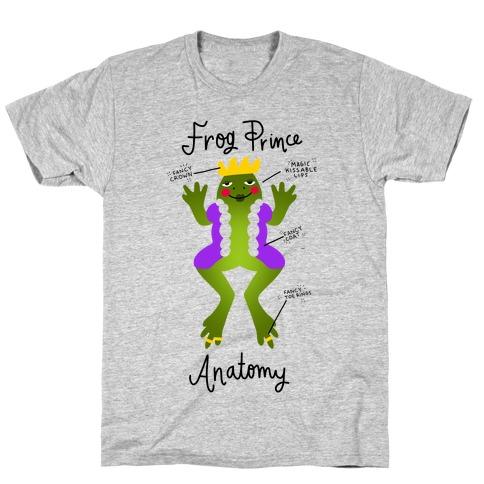 Frog Prince Anatomy T-Shirt