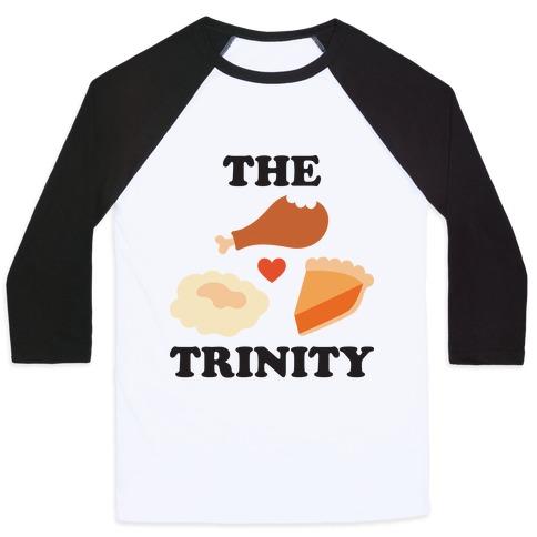 Thanksgiving Trinity Baseball Tee