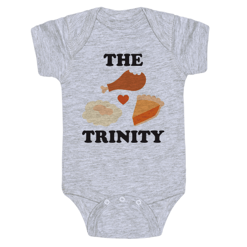 Thanksgiving Trinity Baby Onesy