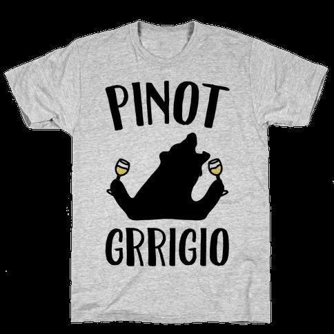 Pinot Grrigio Mens T-Shirt