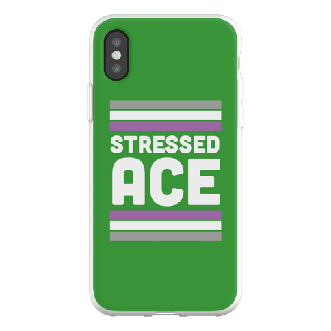 Stressed Ace Phone Flexi-Case