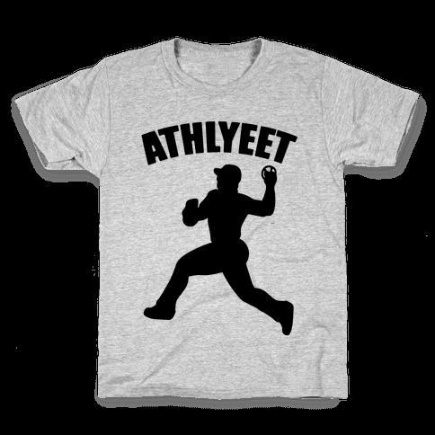 Athlyeet Baseball Kids T-Shirt
