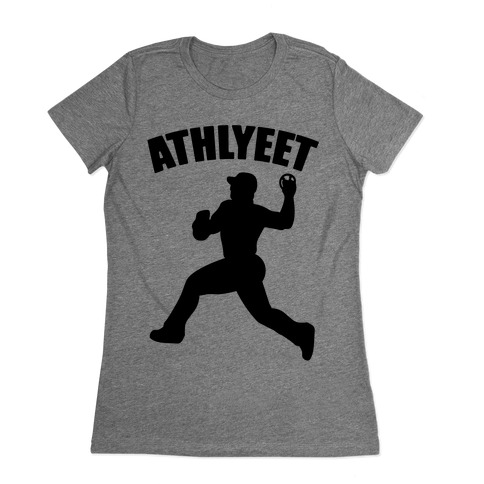 Athlyeet Baseball  Womens T-Shirt