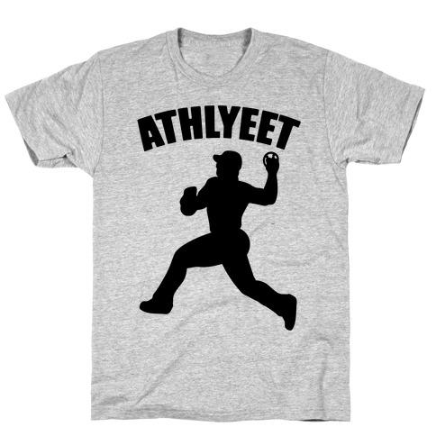 Athlyeet Baseball T-Shirt