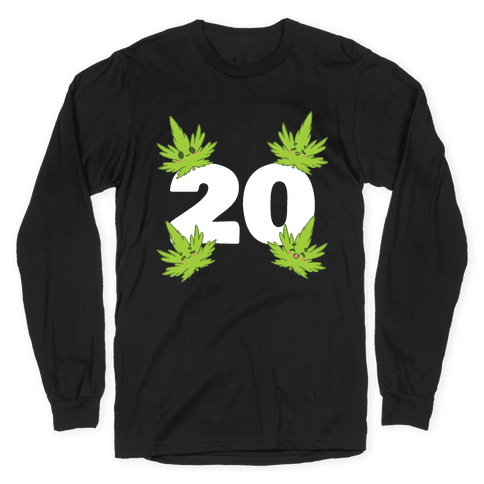 4 Leaves And #20 Long Sleeve T-Shirt
