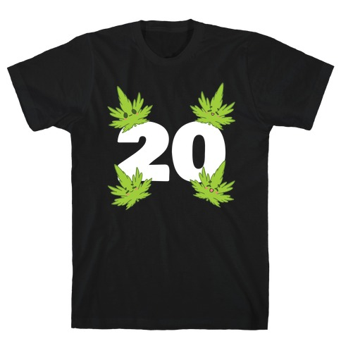 4 Leaves And #20 T-Shirt