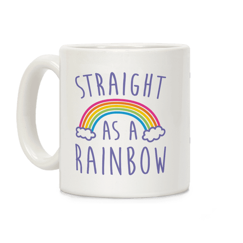 Straight As A Rainbow Coffee Mug