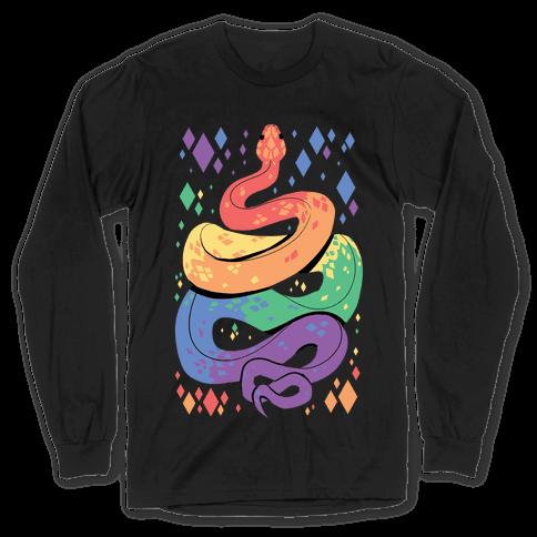 Pride Snakes: Gay Long Sleeve T-Shirt