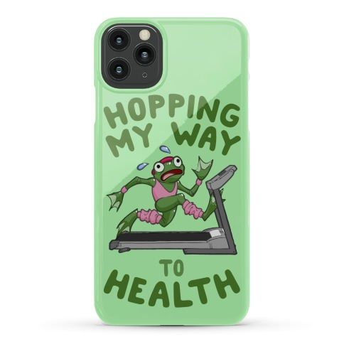Hopping My Way To Health Phone Case