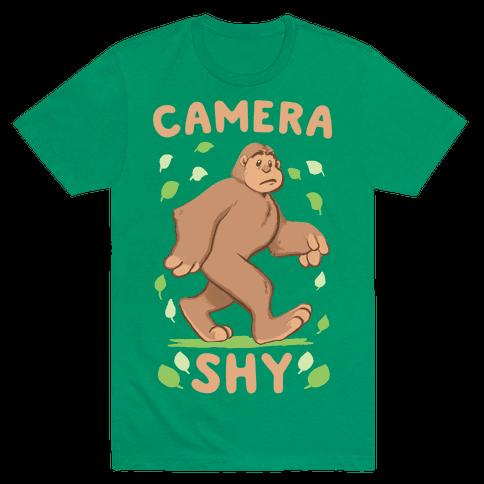 Camera Shy Mens T-Shirt