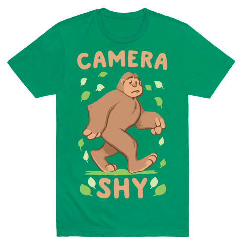 Camera Shy Mens T-Shirt