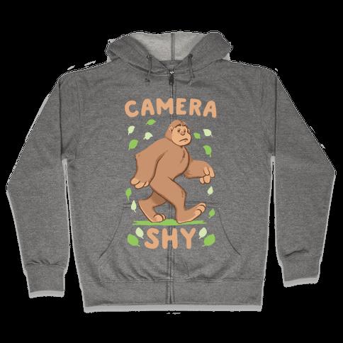 Camera Shy Zip Hoodie