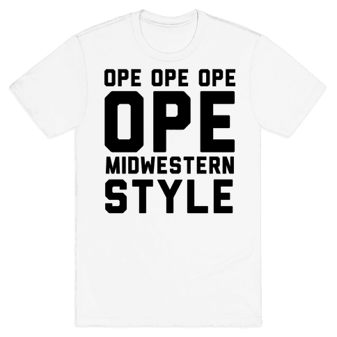 Ope Midwestern Style Mens T-Shirt
