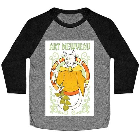 Art Mewveau Baseball Tee