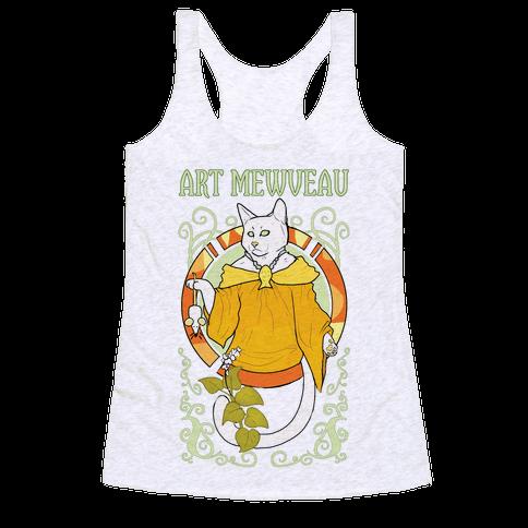 Art Mewveau Racerback Tank Top