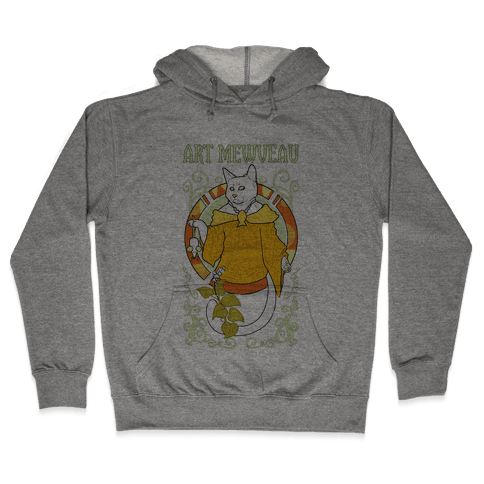 Art Mewveau Hooded Sweatshirt