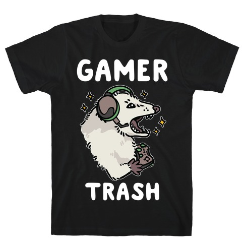 Gamer Trash Opossum T-Shirt